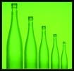 Five green bottle...
