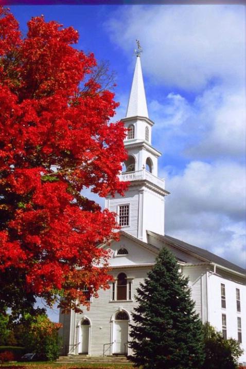 Woodstock Church - ID: 3148412 © Deborah A. Prior