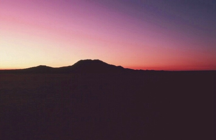 Sunset At El Mirage, CA 1983 - ID: 3172626 © John DeCesare