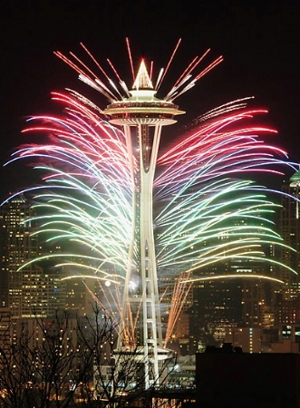 New Year at Seattle Center (#1)