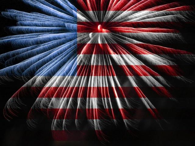 American New Year Celebration