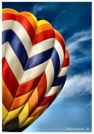 Hot air balloon - re-worked