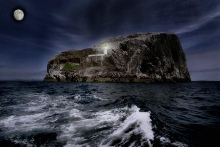 Lighthouse Bass Rock,Scotland