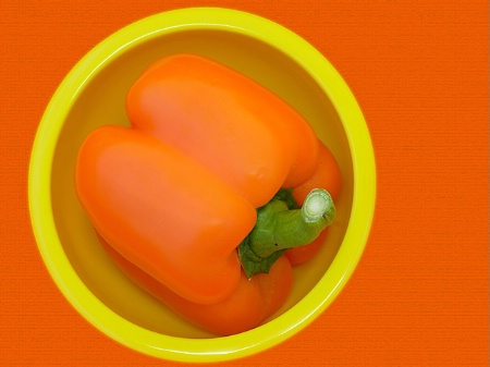 Capsicum in a Bowl