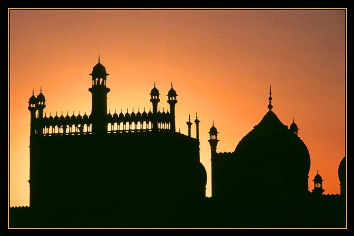 Jama Masjid - Sunset