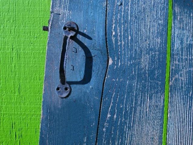 Green & blue.
