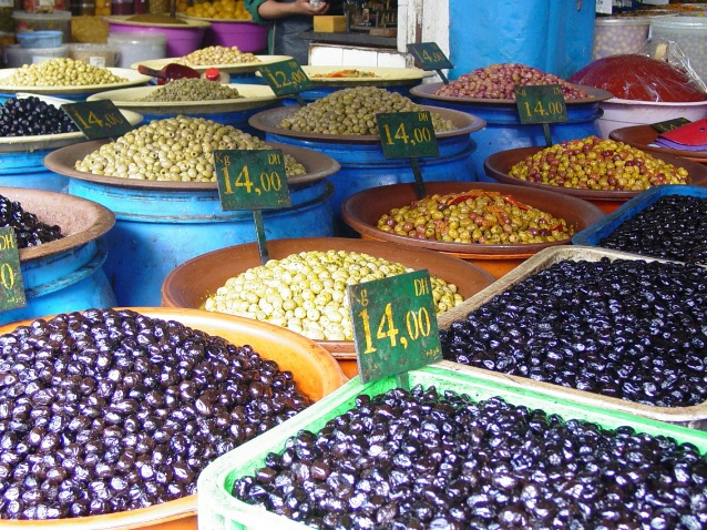 Olive Market - ID: 3325125 © Nichole Gonzalez