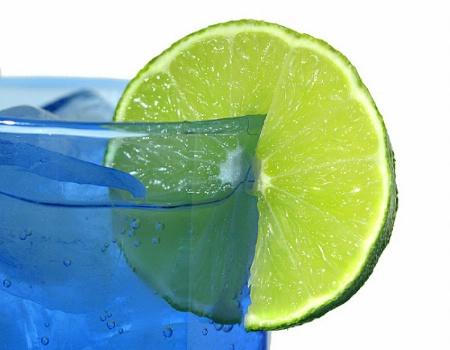 lime blue