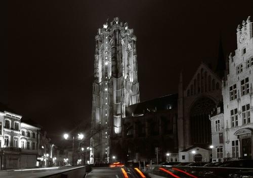 Mechelen in B/W