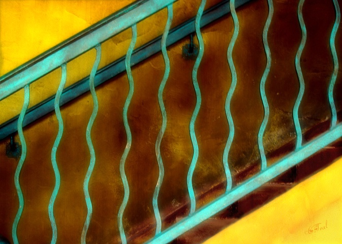 Stairwell Abstract