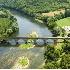 2Bridge Over the Dordogne River, France - ID: 3585683 © Larry J. Citra