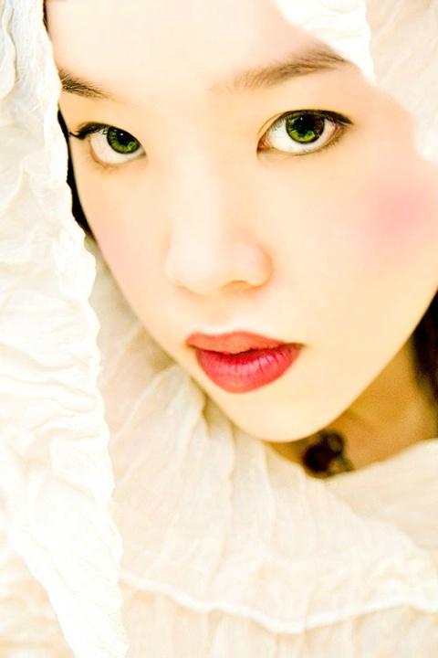 veiled doll