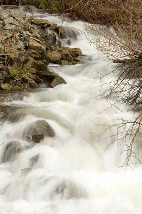 Waterfall at Eakin Creek - ID: 3602389 © Larry J. Citra