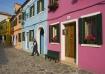 Houses on Burano,...
