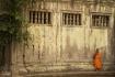 Monk at Beng Meal...