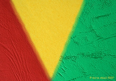 Green, Yellow & Red