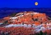 Moonrise at Bryce
