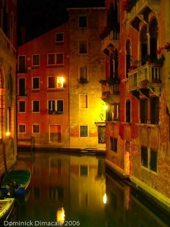 REFLECTIONS ALONG THE VENETIAN CANAL