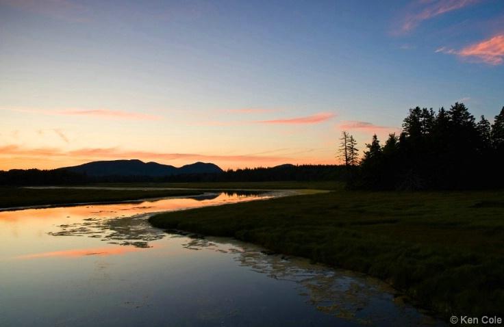 Marsh Sunset - ID: 4327222 © Ken Cole