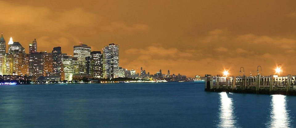 Copper toned NYC