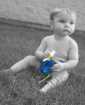 Xander in Blue