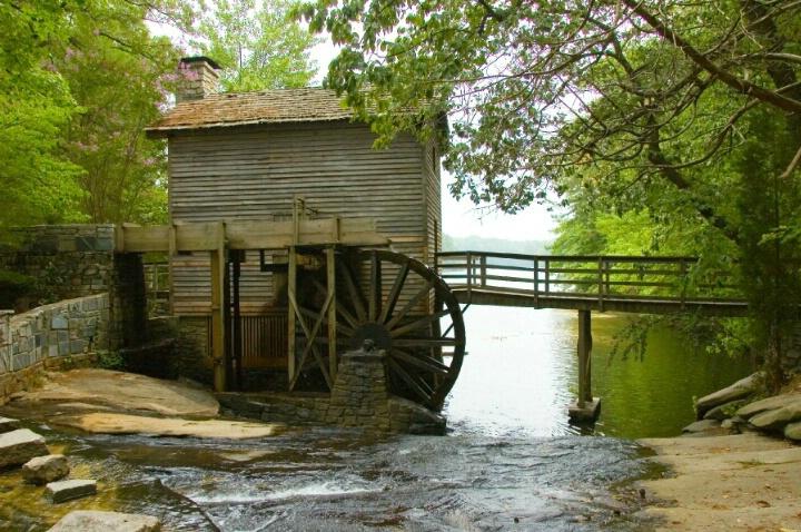 Grist Mill, Stone Mountain Ga. (9539)