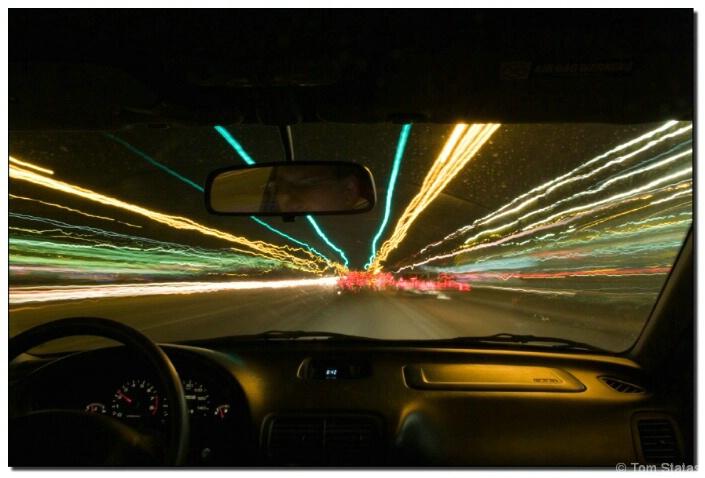 Driving at Night - ID: 4597052 © Thomas  A. Statas