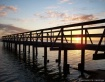Sun on the Pier