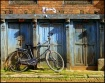 Bike in Bahktapur...