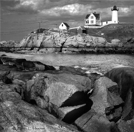 Nubbles Textures, York Harbor, Maine - ID: 4766392 © Martin L. Heavner