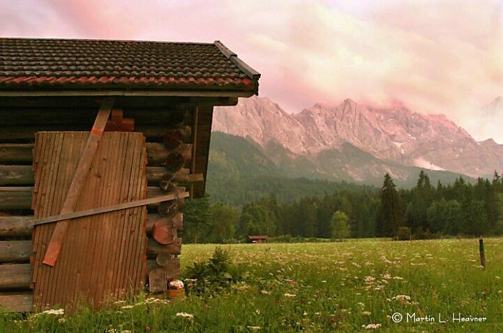 Zugspitze Pastoral, near Garmisch, Germany - ID: 4766401 © Martin L. Heavner