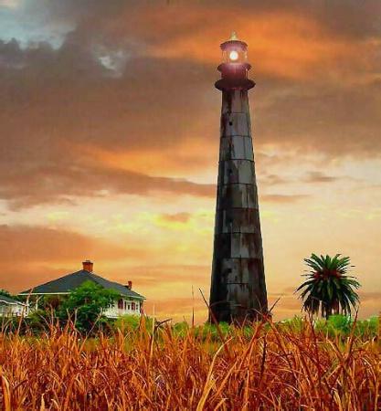 Bollivar Lighthouse Texas