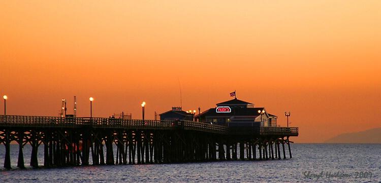 Seal Beach Pier - ID: 4875504 © Sheryl A. Hudson