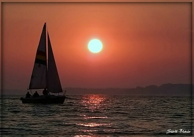 Sailing Sunset.....