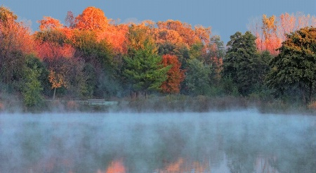 Cold Fall Morning