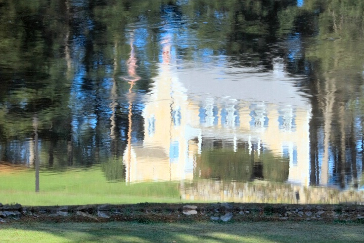 Reflections Of A Farmhouse