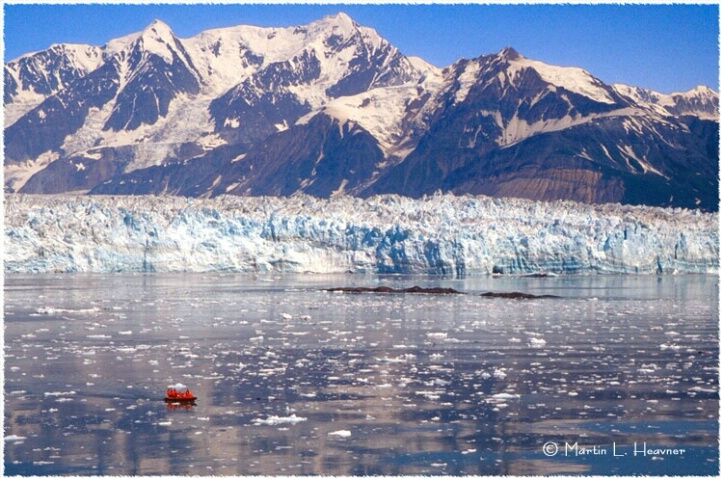 Hubbard Glacier, Disenchantment Bay, Alaska - ID: 5177341 © Martin L. Heavner