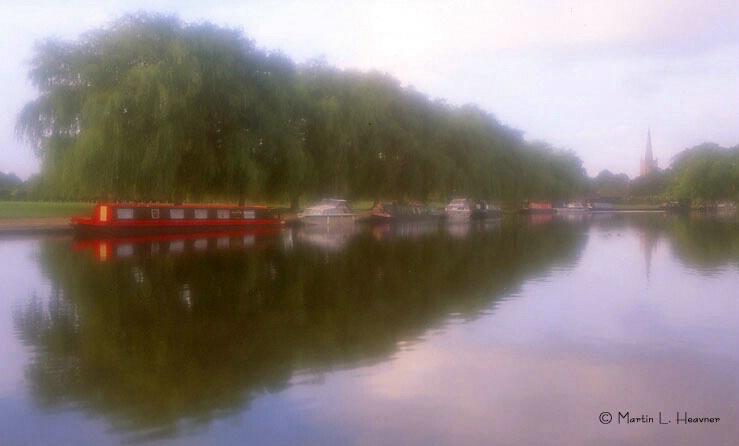 Soft Stratford Reflections, Stratford-on-Avon, UK - ID: 5177342 © Martin L. Heavner