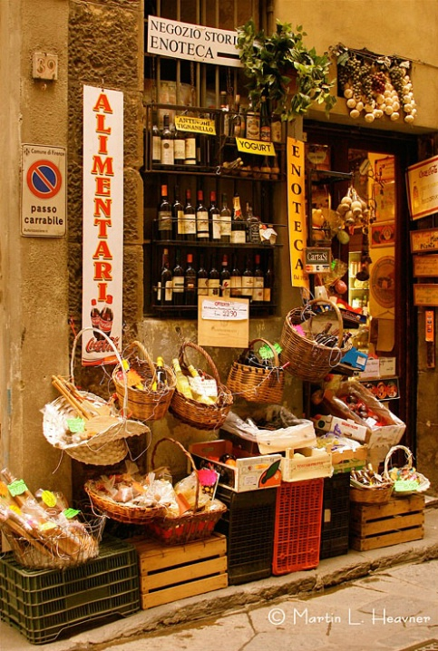 Firenze Storefront, Florence, Italy - ID: 5367686 © Martin L. Heavner