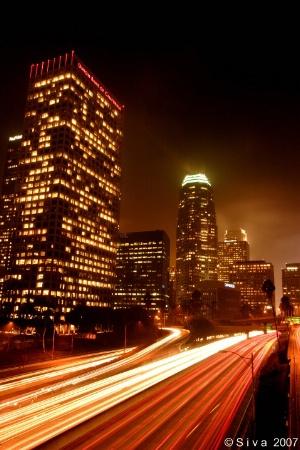 Friday night @ LA Downtown