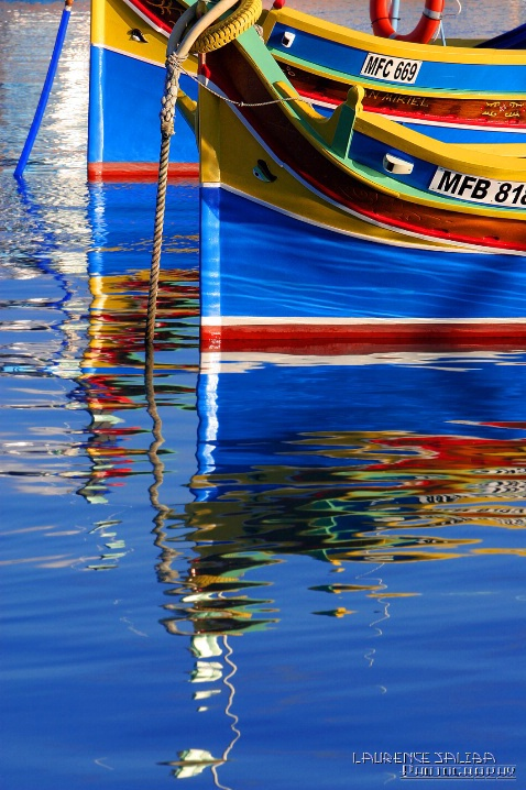 Colours ~  Malta Boats