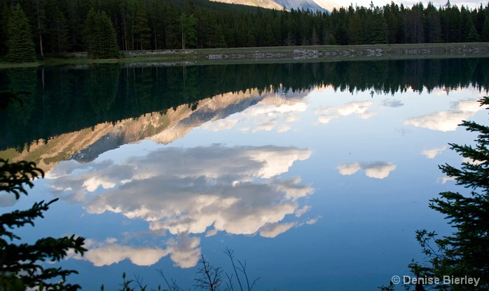 Lake Reflectons - ID: 5428794 © Denise Bierley