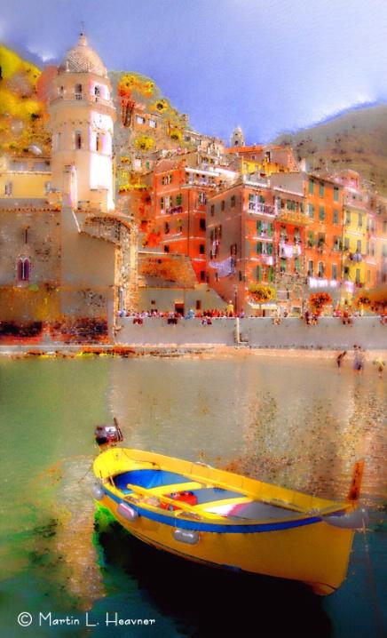 Impressions of Vernazza, Cinque Terre, Italy - ID: 5433911 © Martin L. Heavner