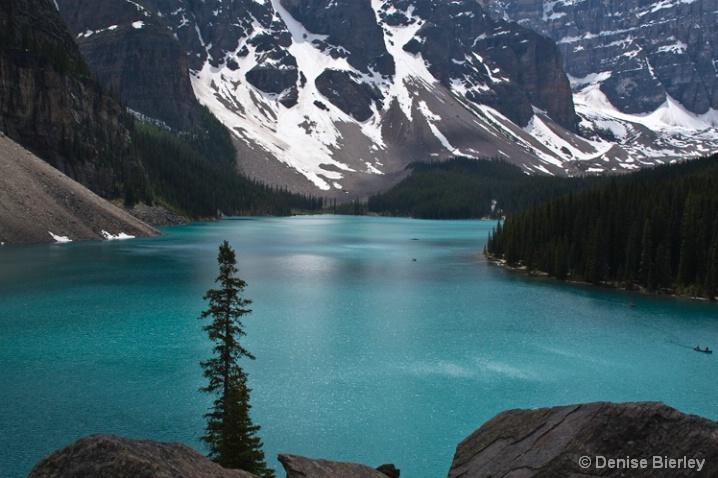 Summer Solstice at Moraine Lake - ID: 5463321 © Denise Bierley