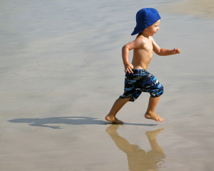Blue Beach Bum