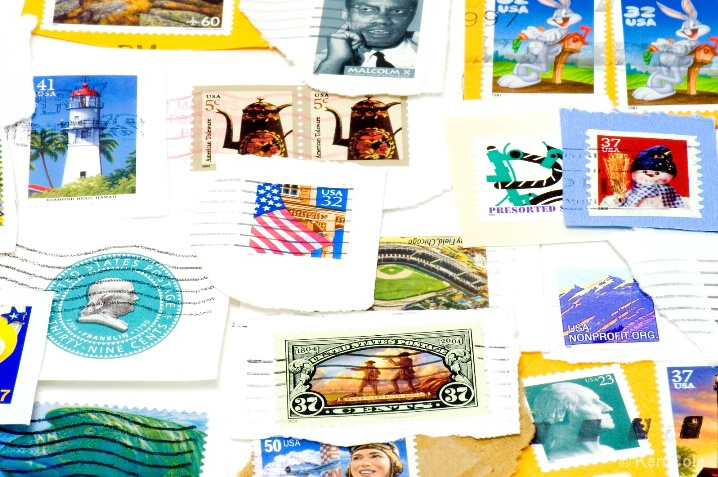 Postage stamp collage - ID: 5663779 © Ken Cole