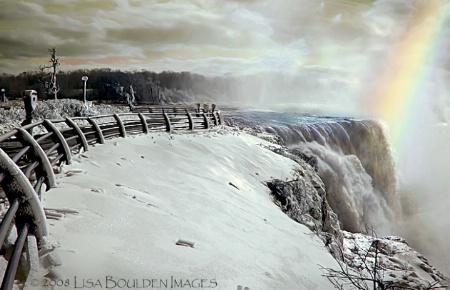 Niagara's  Majesty in Winter