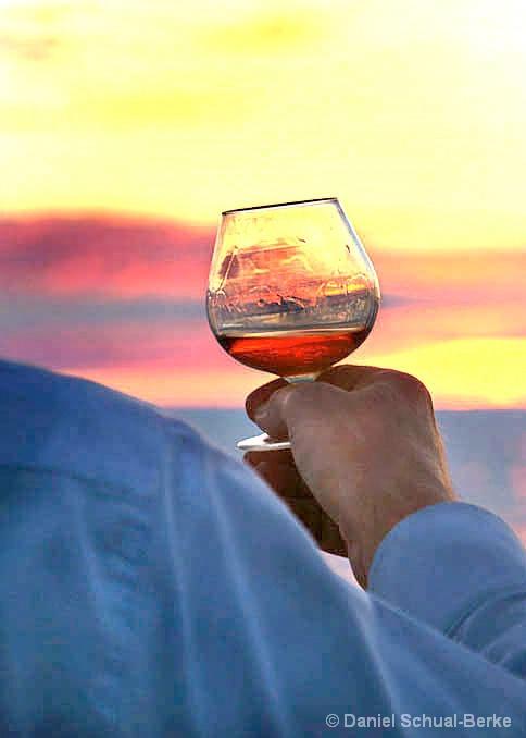Toast To Sunset