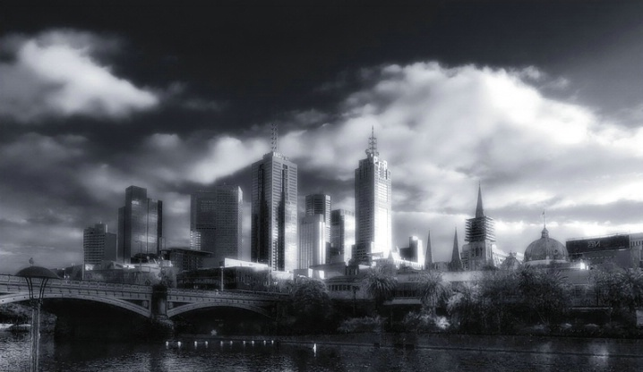 The city of Melbourne
