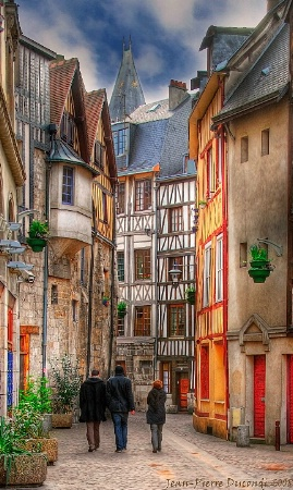 Walking into the past - Vieux Rouen - France